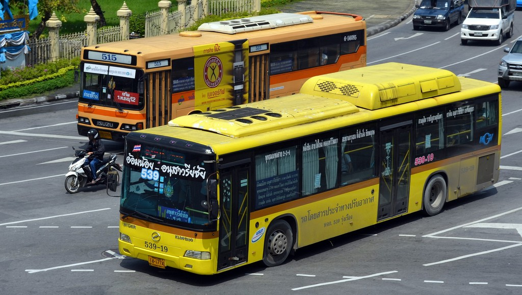 Air conditioned buses
