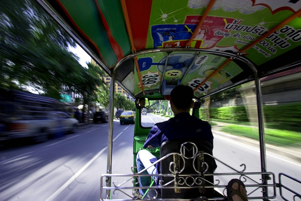 Dizzying Tuk Tuks