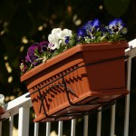 Flower pot balcony