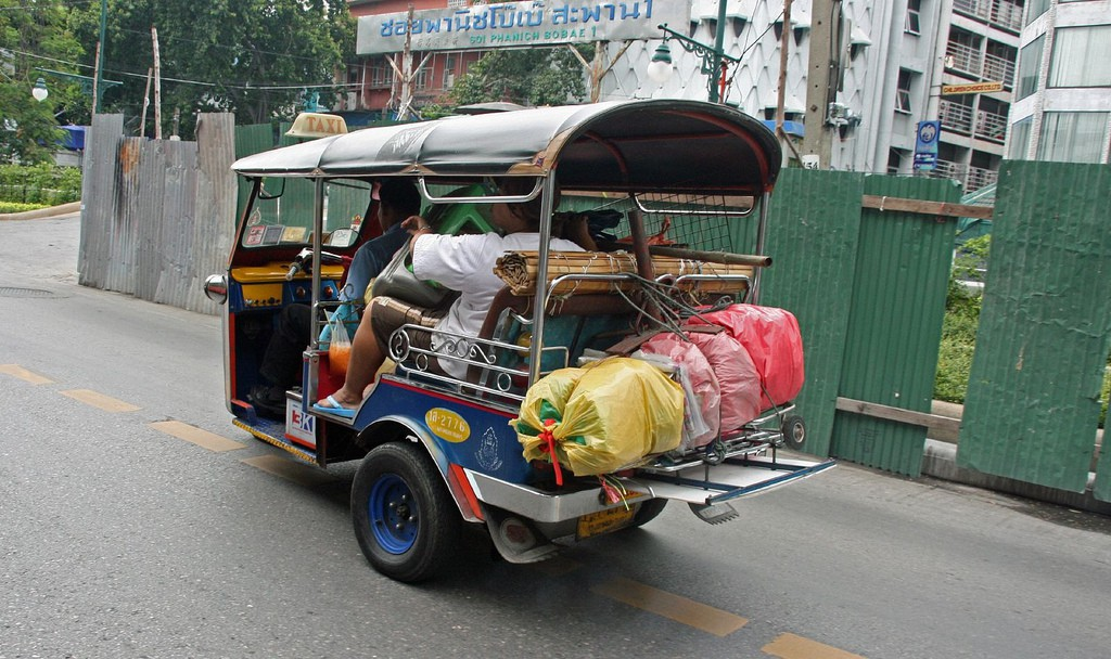 Tuk Tuks for lugging items