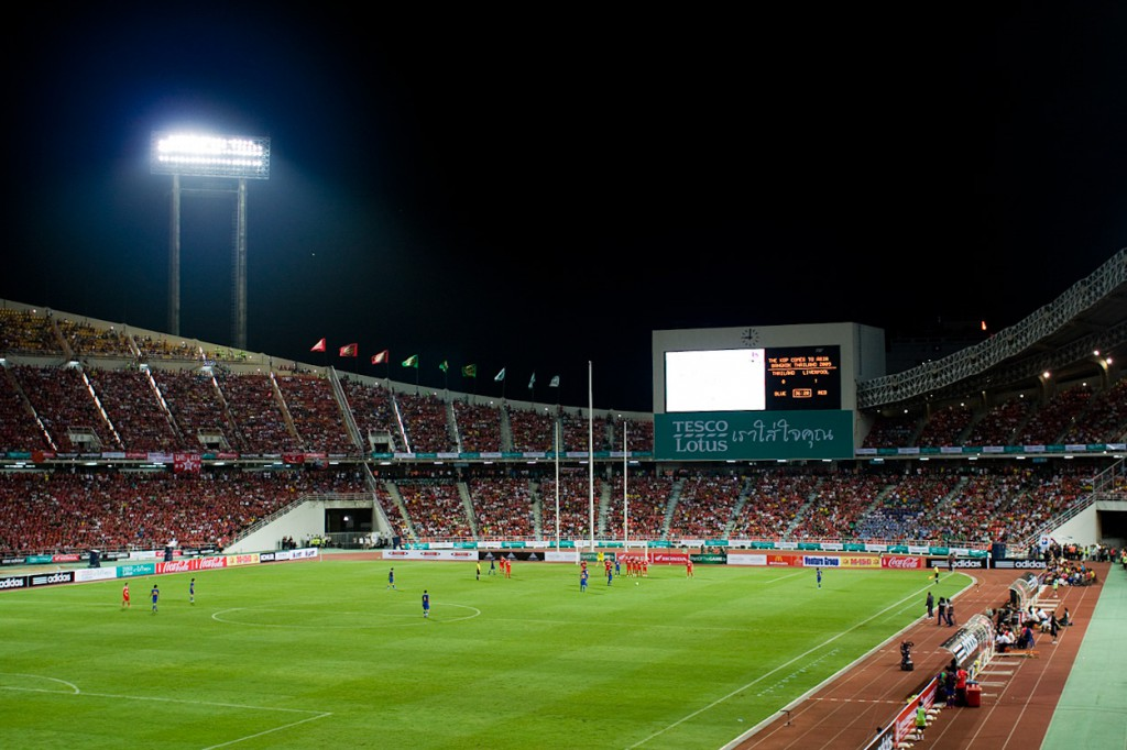 Liverpool vs Thailand 2009