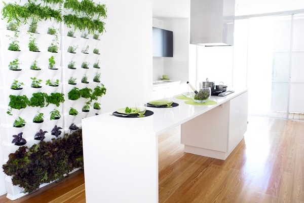 5. Indoor Vertical Garden by Wicker Paradise for blog