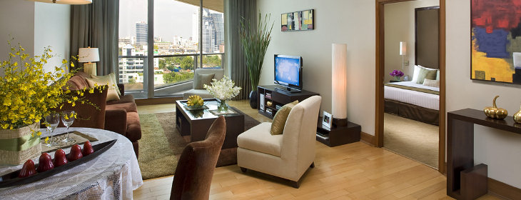 Ascott Sathorn - Living Room