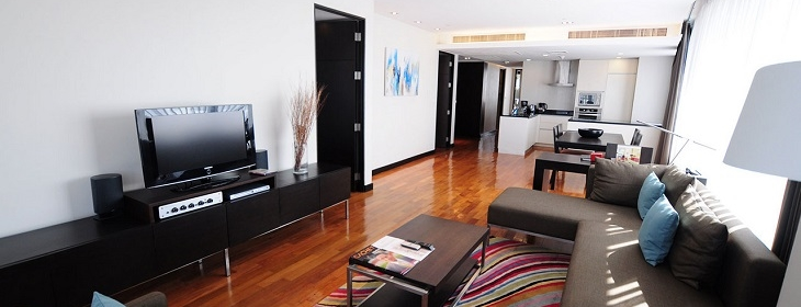 Fraser Suites Sukhumvit - Living Room (b)